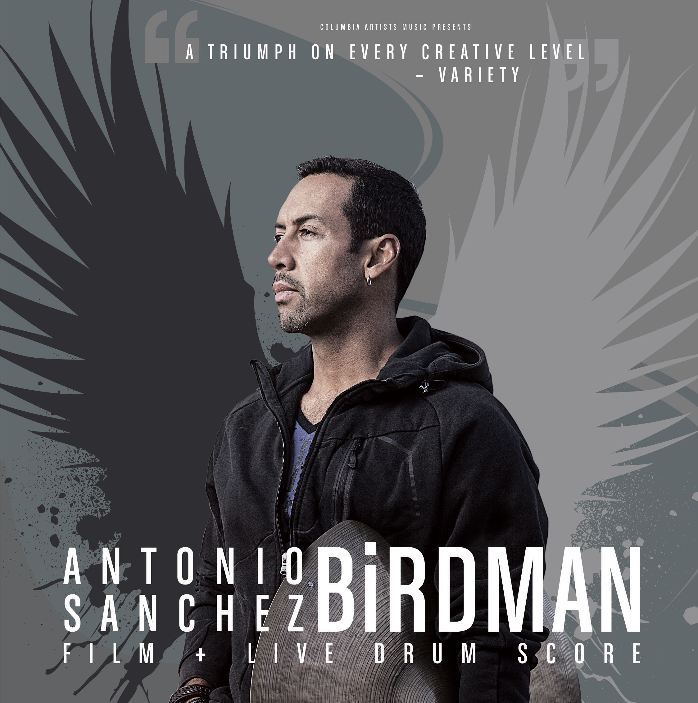 2016 antonio sanchez birdman flyer